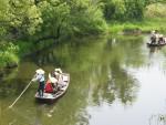 谷田川の揚船